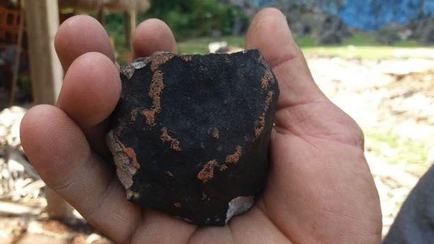 Advierten sobre la radioactividad en un meteorito caído en Cuba
