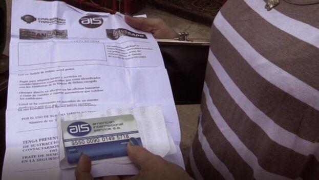 Desde finales del año pasado las tarjetas AIS pueden ser empleadas para la compra de productos en las tiendas en Moneda Libremente Convertible. (MartiNoticias)
