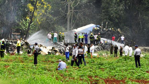 Accidente aéreo en La Habana. (Archivo EFE)