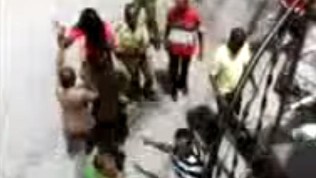 Activistas de Unpacu detenidos. (YouTube)