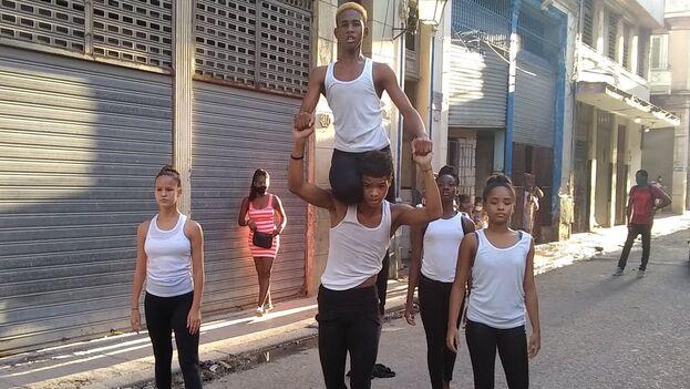 """Acto de repudio disfrazado de """"jornada cultural"""" a cargo de las autoridades municipales de La Habana Vieja. (Facebook)"""