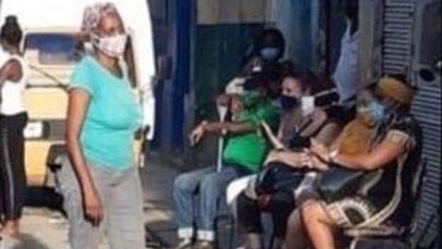 Acto de repudio el pasado 10 de octubre en La Habana. (Captura)