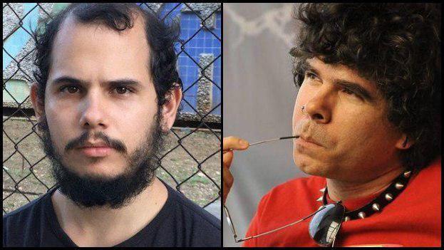 Los activistas Adonis Milán (izquierda) y Gorki Águila (derecha) no pueden asisitir a los actos que rodean a la VIII Cumbre de las Américas. (14ymedio/EFE)