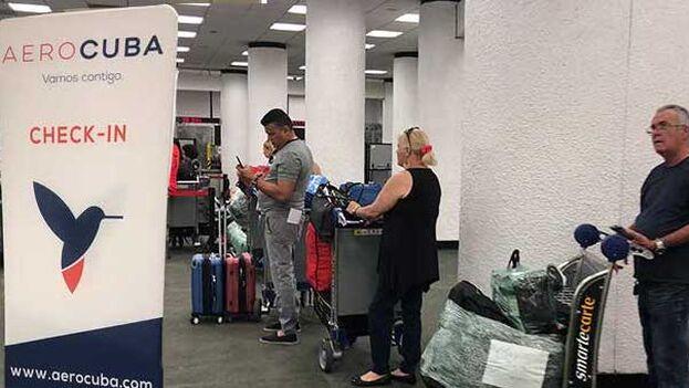Estos vuelos de Aerocuba solo saldrán desde la capital, por lo que quienes se encuentren en otras provincias deberán desplazarse. (Cubanos por el Mundo)