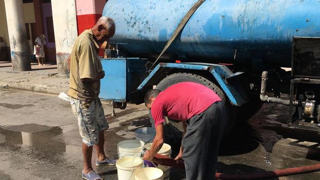 Agua, Habana, rotura, La Habana, Pipa, Pipas