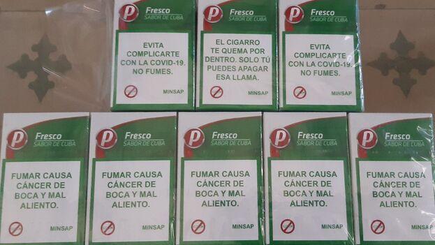 """Aguirre recuerda que el producto está en venta libre y, por tanto, """"no se debe cigarro de julio, septiembre o agosto a los consumidores"""". (14ymedio)"""