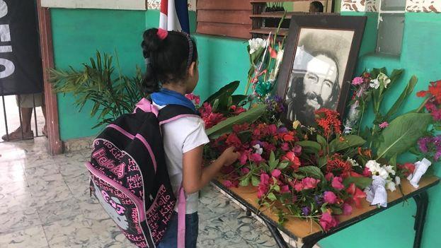 Alumna de una escuela de La Habana. (14ymedio)