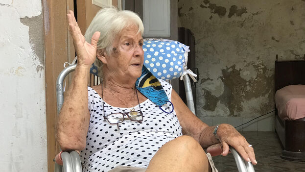 A sus 75 años, Isis recuerda con mucho cariño a la familia Arechabala. (Roma Díaz)