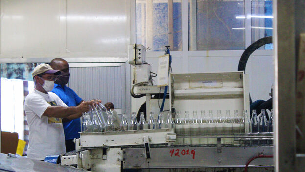 Vista actual de las instalaciones de la fábrica Cuba Ron, instalada donde antes estaba la empresa de los Arechabala. (Roma Díaz)