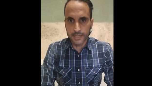 Armando Unsain, el español al que las autoridades cubanas piden abandonar el país. (Captura)