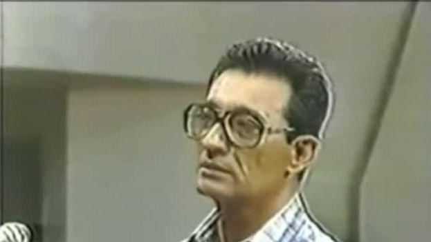 El general Arnaldo Ochoa en el  juicio que lo condenó a muerte por fusilamiento. (CC)