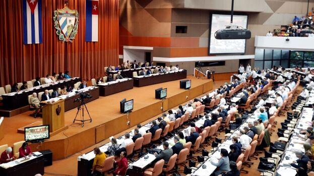 Asamblea Nacional del Poder Popular, en La Habana. (EFE/Ernesto Mastrascusa/Archivo)