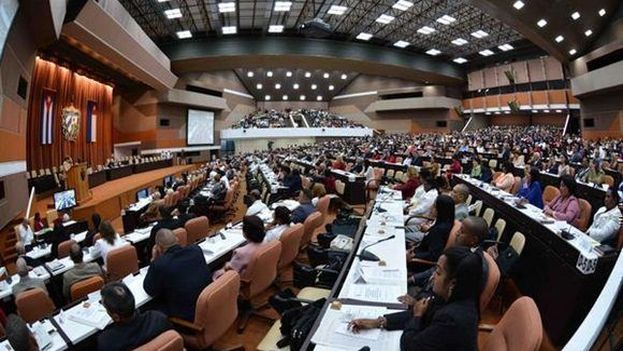 La Asamblea Nacional cubana. (Twitter)