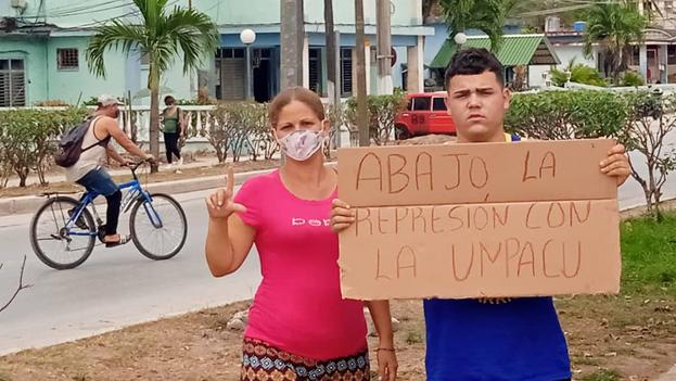 Aumenta el apoyo a los huelguistas en toda Cuba. (Twitter)