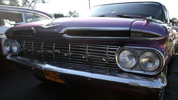 Auto Chevrolet de 1959 (Foto Silvia Corbelle)