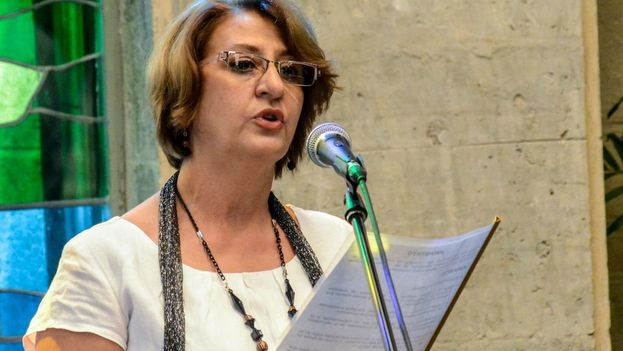 Alina Balseiro Gutiérrez, presidenta de la CEN, ratificó que los 605 candidatos a diputados a la Asamblea Nacional del Poder Popular resultaron electos. (parlamentcubano.cu)