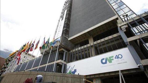 En la imagen, la sede del Banco de Desarrollo de América Latina con el que Cuba firmó acuerdos el pasado septiembre. (EFE)