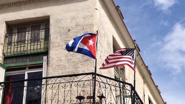 Banderas. (14ymedio)