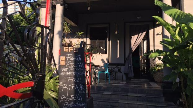 El Bar EFE, lugar del presunto incidente homofóbico que dio lugar a una campaña de boicot en su contra. (14ymedio)