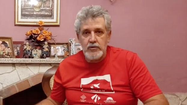 Bárbaro de Céspedes, conocido como 'El Patriota', pasó una semana detenido en la unidad de Garrido, en la ciudad de Camagüey. (Captura)