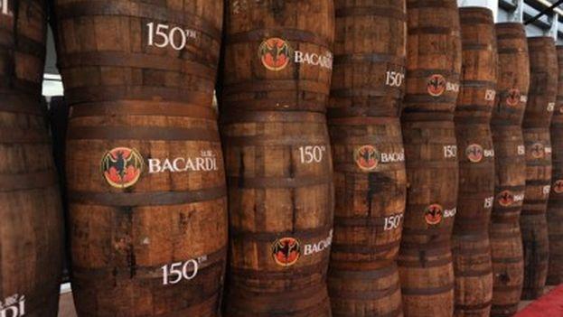 Barricas de producción del ron Bacardí. (CC)