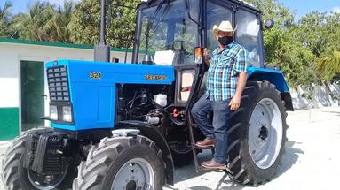 El tractor Belarus 82.1 es fabricado por la Empresa Unitaria Republicana Planta de Tractores de Minsk de Bielorrusia. (Gelma)