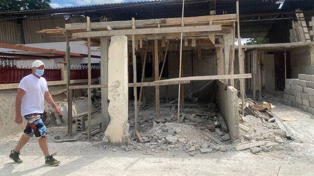 El desabastecimiento de materiales ha golpeado duramente la construcción de viviendas, reconoció Betsy Díaz Velázquez, ministra de Comercio Interior. (14ymedio)