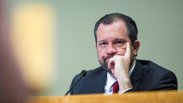 El abogado mexicano René Bolio, presidente de la Comisión Justicia Cuba. (EFE/Giorgio Viera./Archivo)