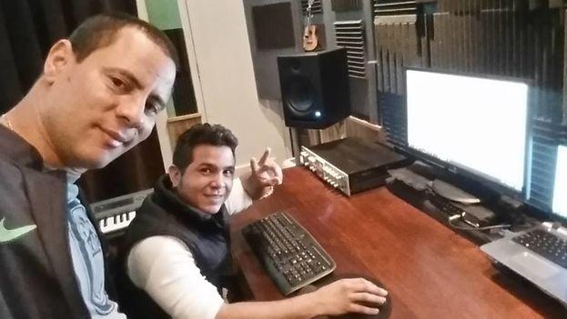 El dúo 'Buena Fe', integrado por Israel Rojas y Yoel Martínez. (Facebook)