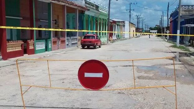 Camajuaní vuelve a ponerse en cuarentena por segunda vez desde que comenzó la pandemia de coronavirus. (Facebook/Dayron Pérez Urbano)