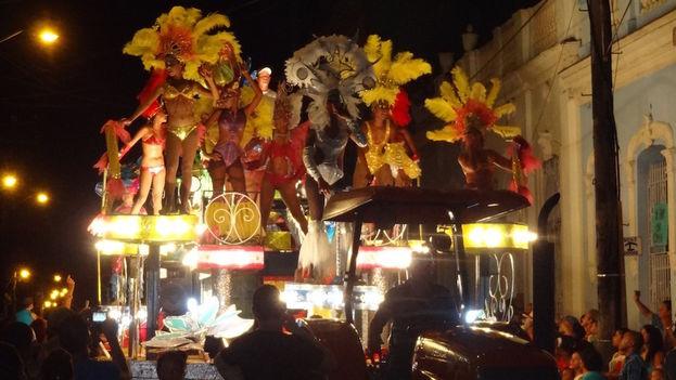 Carroza en las fiestas de San Juan. (14ymedio)