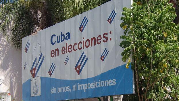 Cartel de las elecciones parlamentarias 2008. (CC)