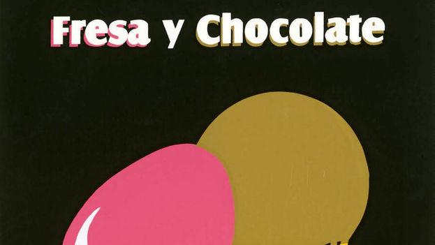 Cartel de la película 'Fresa y Chocolate'. (Cortesía)