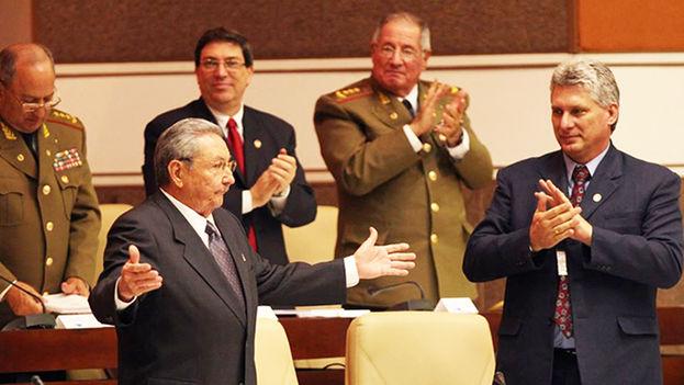 Raúl Castro en la Asamblea Nacional, en La Habana. (EFE)