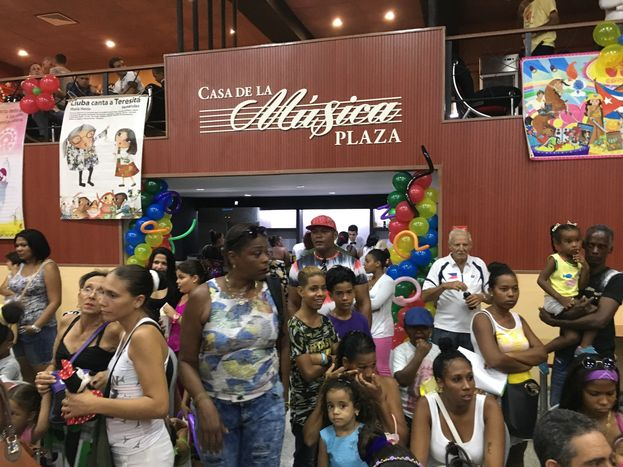 El nuevo Centro Cultural La Plaza, en La Timba, cuenta con talleres para niños, proyecciones audiovisuales, una casa de la música, una librería, una sala 3D y una tienda, entre otras opciones. (14ymedio)