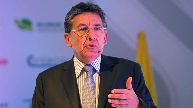 El fiscal general de Colombia, Néstor Humberto Martínez las capturas se hicieron luego de una labor de inteligencia que duró tres meses. (EFE)