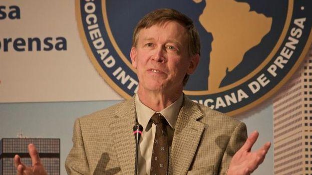 El gobernador del estado de Colorado (EE UU), John Hickenlooper. (Archivo)