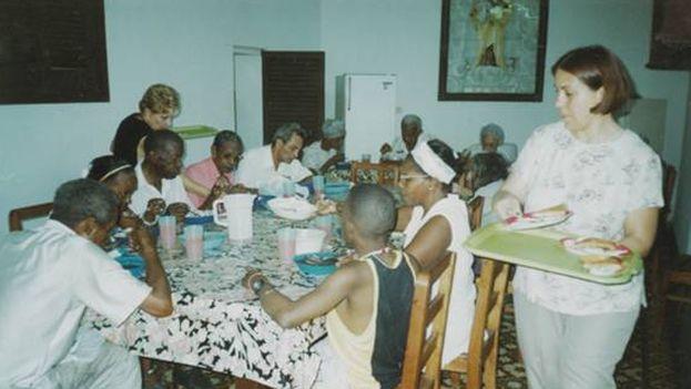 Comedor de Ancianos en La Habana.(Orden de Malta)