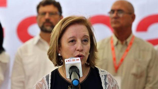 La secretaria de Estado de Comercio de España, María Luisa Poncela. (EFE)