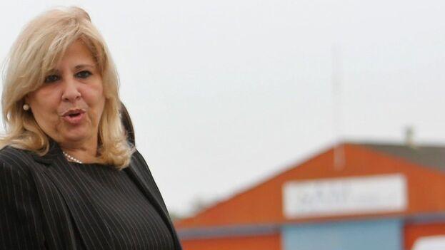 Ana Teresita González, viceministra primera de Comercio Exterior y la Inversión Extranjera. (EFE/ Yander Zamora /Archivo)