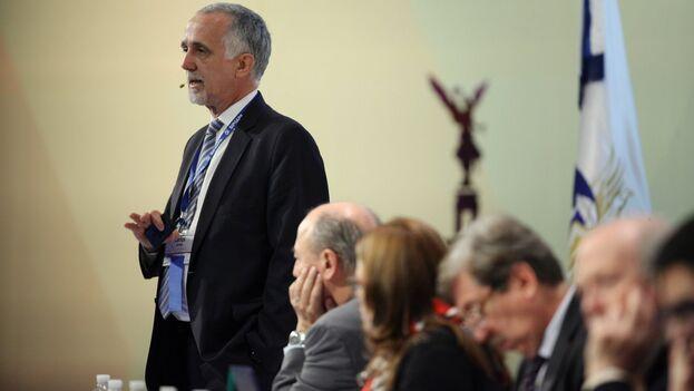 Carlos Jornet, presidente de la Comisión de Libertad de Prensa e Información de la SIP. (EFE/José Méndez/Archivo)