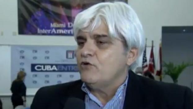 Oscar peña presidió el Comité Cubano Pro Derechos Humanos. (Captura)