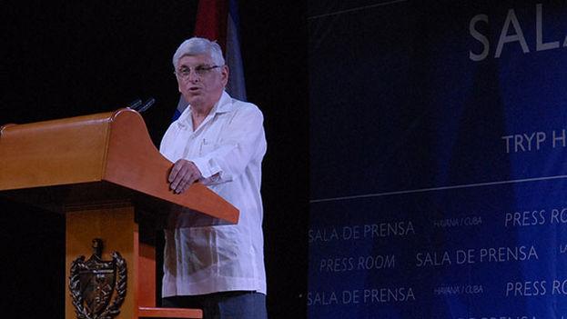El director general de Prensa y Comunicación del Ministerio cubano de Relaciones Exteriores, Alejandro González. (MINREX)