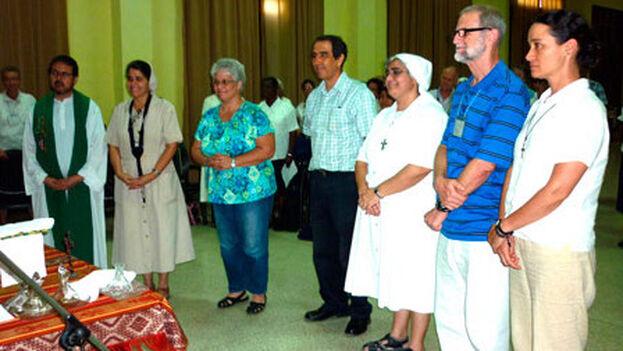Junta directiva de la Conferencia Cubana de Religiosos y Religiosas desde 2017. (Concur)