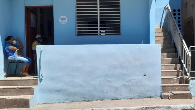 Consultorio 22 del médico de la familia en el municipio de Regla, La Habana, donde se lleva a cabo la intervención con el candidato vacunal Abdala. (14ymedio)