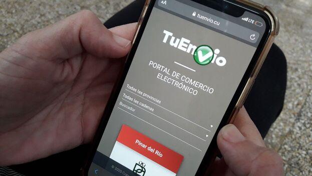 Creada en 2019, la tienda TuEnvío se volvió una plataforma obligada para miles de cubanos. (14ymedio)