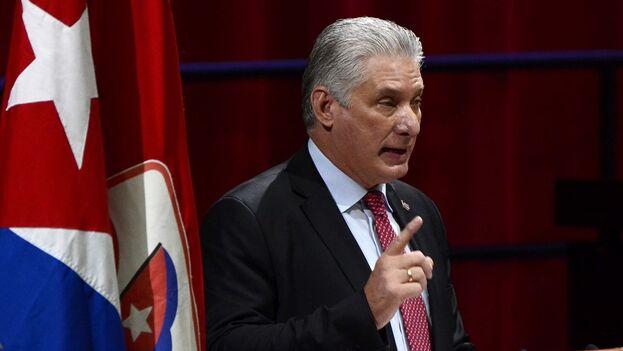 El presidente de Cuba Miguel Díaz-Canel. (EFE/ACN/Ariel Ley Royero/Archivo)