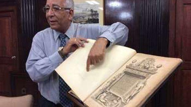 Cuba recupera ejemplar robado del primer atlas moderno de la historia. (EFE)