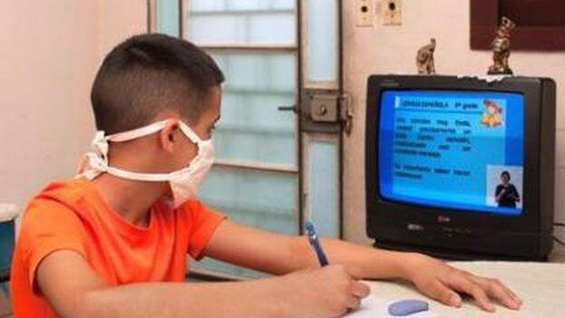 El curso escolar en Cuba empezará el 6 de septiembre con teleclases. (Revista Bohemia)