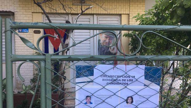 Este domingo tienen lugar en Cuba las votaciones del proceso electoral que culminará con la salida de Raúl Castro de la presidencia. (14ymedio)